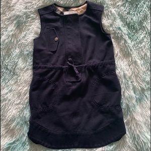 Authentic Burberry dress size 4 Navy blue color